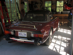 Guillermo's 2nd 1976 TR6