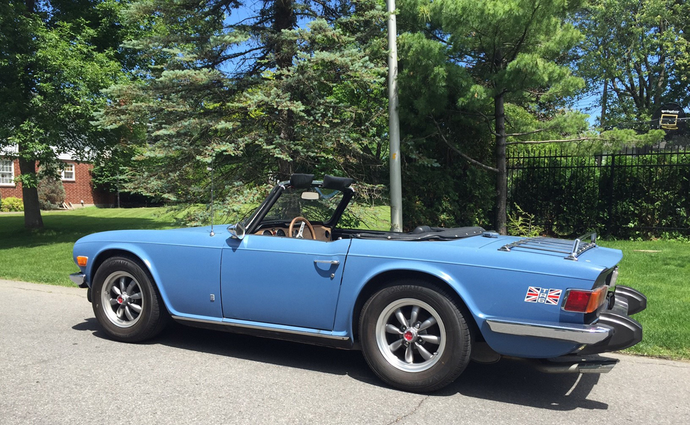 Marc's 1975 TR6